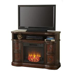 Style Selections Modern Media Electric Fireplace by Style Selections 48 In W 48 00 Btu Mink Wood Wall Mount
