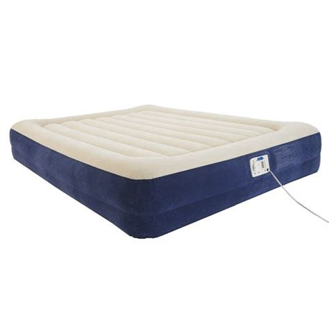 twin size air bed mainstays 14 elevated air bed mattress built in pump