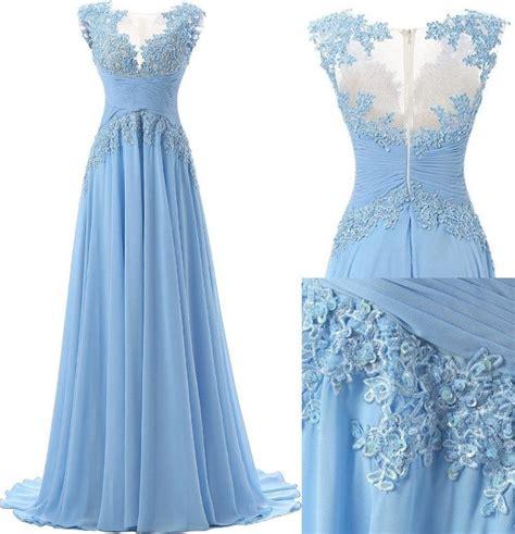light blue chiffon dress 17 best ideas about light blue dresses on