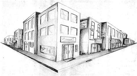 tutorial menggambar perspektif 1 titik lenyap pengertian gambar perspektif dan contohnya lengkap
