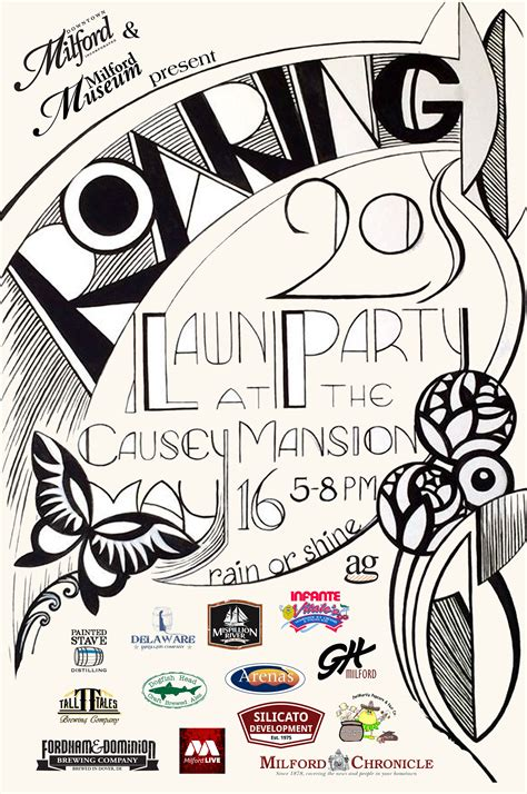 roaring  party   lawn  causey mansion downtown