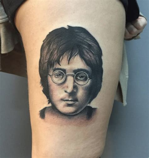 john lennon tattoo designs 24 amazing lennon tattos part 1 the beatles