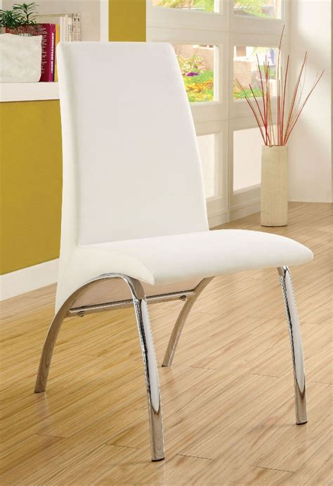 Alodie Set By Unique glenview white side chair set of 2 from furniture of america coleman furniture