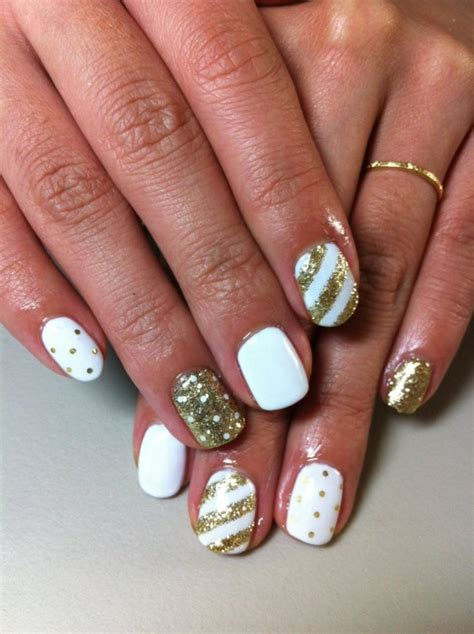 fingernail patterns gel nails in great colors which are also for the winter