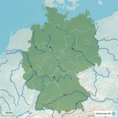 deutsches büro grüne karte telefonnummer flusskarte deutschland deininger landkarte f 252 r
