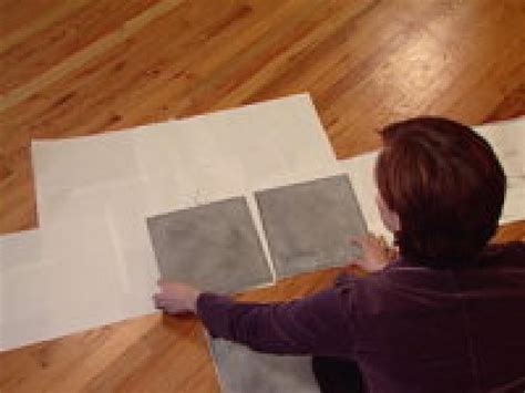 How To Lay Tile Backsplash In Kitchen by An Easy Backsplash Made With Vinyl Tile Hgtv