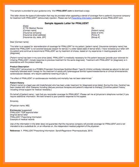 Appeal Letter Sle For Medication insurance appeal letter out of network 28 images sle