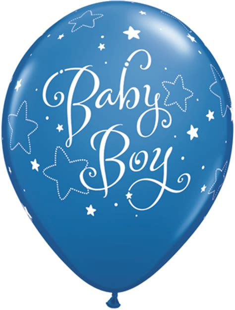 11 quot dark blue and robin egg blue baby boy stars latex balloons x 25
