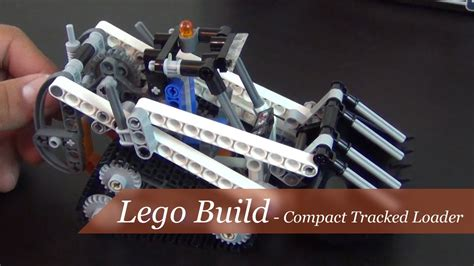 Lego Technic 42032 Compact Tracked Loader lego build technic compact tracked loader set 42032
