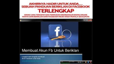 membuat iklan di internet cara membuat iklan di facebook gratis