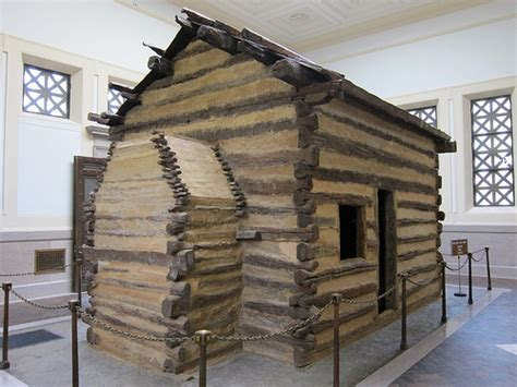 Born In A Log Cabin by Abraham Lincoln S Birthplace Flickr Photo