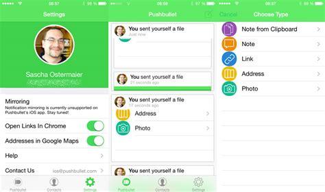 schalter für wandle pushbullet f 195 188 r ios update links in apps 195 182 ffnen