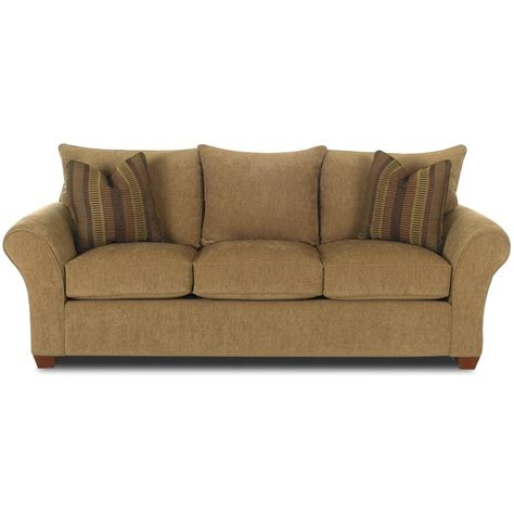klaussner sleeper sofa klaussner fletcher innerspring sleeper sofa