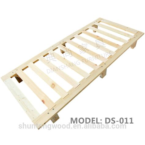 Solid Wood Mattress Foundation Kd Solid Wood Bed Frame Foundation Single King Size Buy Children Bed Wood