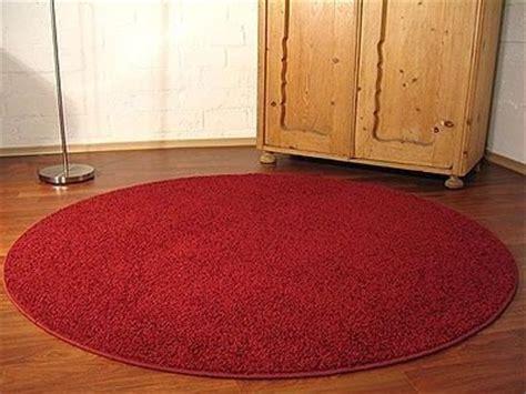 runder roter teppich filz teppich in steinoptik schlafzimmer teppich kaufen