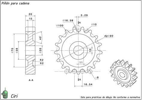 mecanismos de cadenas y catarinas planos con ciri rueda dentada para cadena