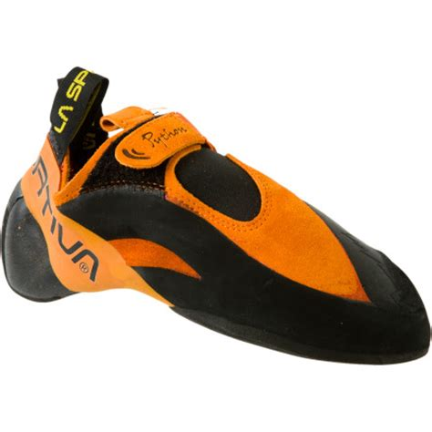 best climbing shoes la sportiva python climbing shoe review climberism magazine