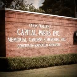 cook walden capital parks funeral home and cemetery