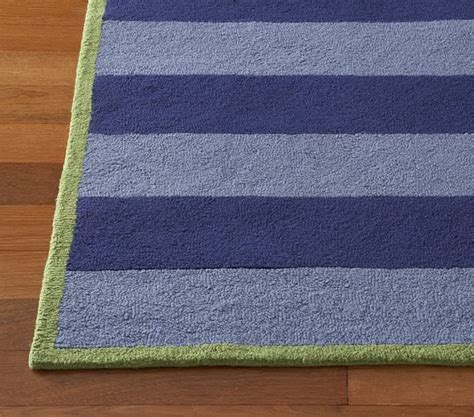 boy rug boys rugby stripe rug pottery barn