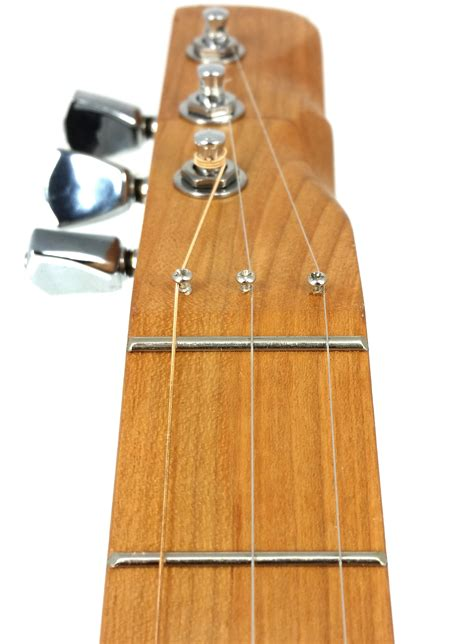 cigar box guitar headstock template zero frets how and why to use them on cigar box guitars