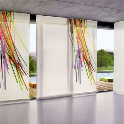 tenda pannelli 50 esempi di tende a pannello moderne per interni
