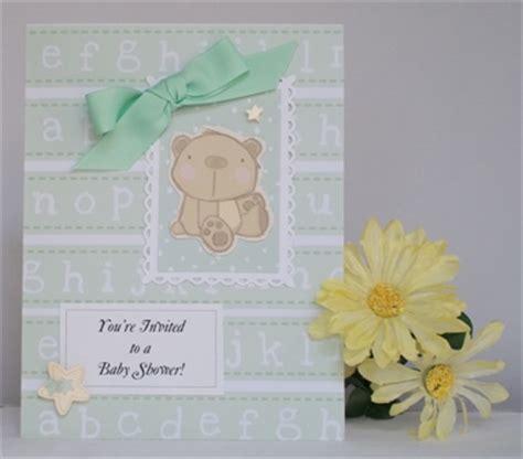 Handmade Baby Shower Invitation Ideas - handmade baby shower invitation idea