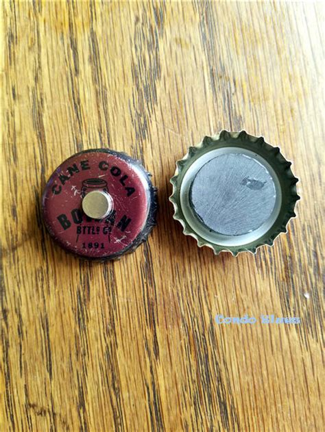 Condo Blues 5 Quick And Easy Bottle Cap Refrigerator