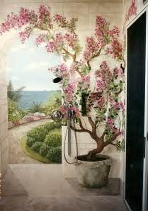 wall mural painting 25 best painted wall murals ideas on pinterest