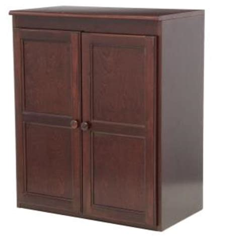 Cherry Wood Pantry concepts in wood multi use storage pantry in cherry kt613c