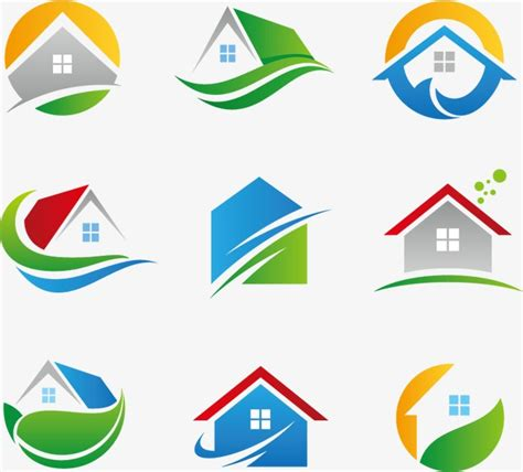 icon design build house icon building design real estate png and vector