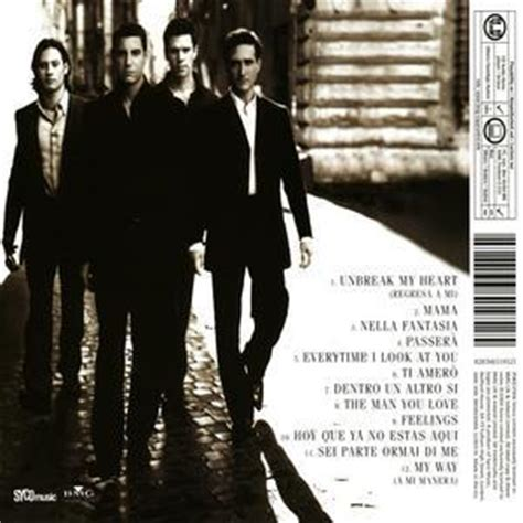 il divo cds lyrics from the cd quot il divo quot il divo fanpop