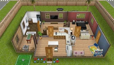 Sim House Plans Sims Freeplay Earth Tones House Sim Freeplay Plays Sims And Earth Tones