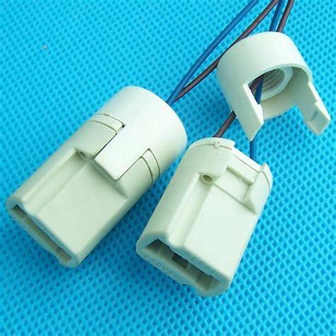 5pcs g9 crystal l base ceramic socket l holder