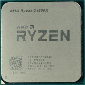 Amd Ryzen3 1300x 3 5ghz Up To 3 7ghz 65w Am4 amd ryzen 3 1300x 4 3 5 ghz 3 7 ghz turbo boost socket am4 desktop processor with wraith