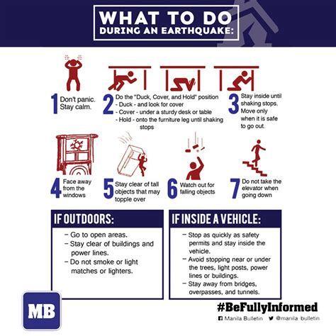 earthquake what to do here are some quick reminders on what to do before during