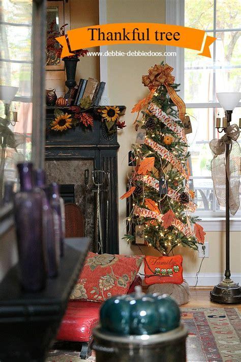 thanksgiving thankful tree debbiedoos