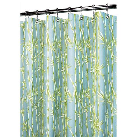 Tropical Shower Curtains Buy Blue And Green Shower Curtains From Bed Bath Beyond