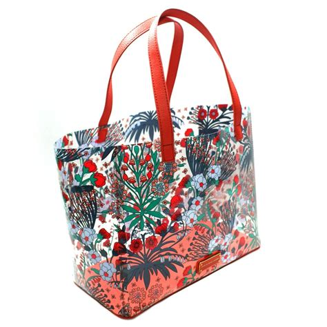 Flowery Tote Bag marc by marc multi transparent flowery tote bag m0002368 marc by marc