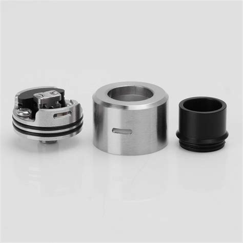 Lsd Le 86 24 Rda Stainless Edition sjmy le 86 bf style rda silver 316ss atomizer w bottom