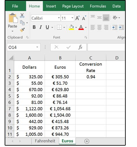 format excel kilo euro how excel can help with metric and american standard