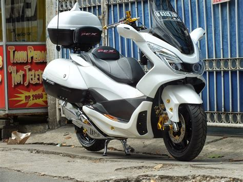 Pcx 2018 Shockbreaker by Modifikasi Honda Pcx 150 Otowire