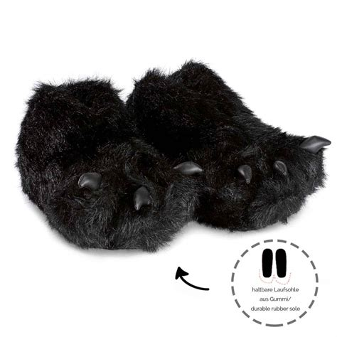 paw slippers paws slippers s paw with claws as a set for adults