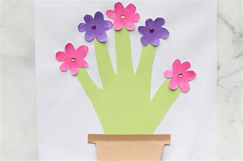 Flower Mug Card Template by The Best Ideas For The Best Crafts Activities