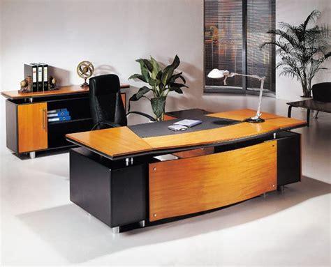 modern office executive desk wooden table