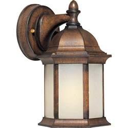 rustic outdoor lighting filament design burton 1 light rustic outdoor
