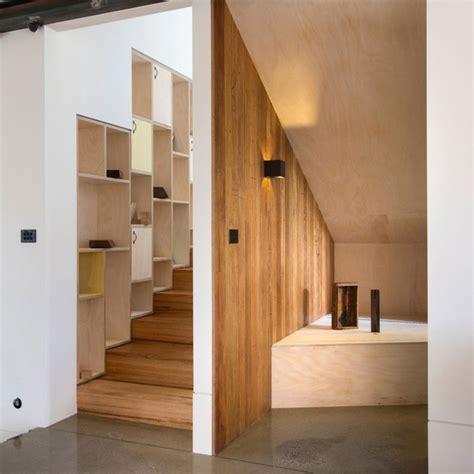 treppe mit stauraum 27 tolle designer ideen f 252 r die moderne wohnungsgestaltung