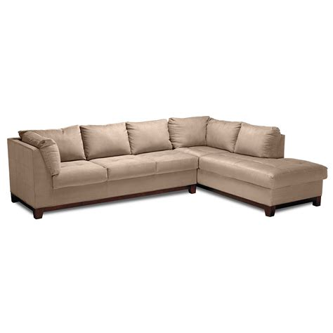 livingroom soho soho 2 sectional with right facing chaise