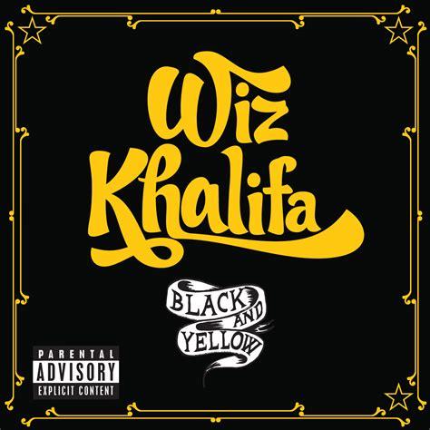 yellow and black wiz khalifa black and yellow