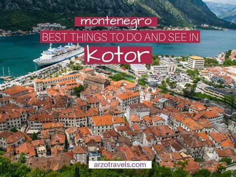 kotor montenegro itinerary