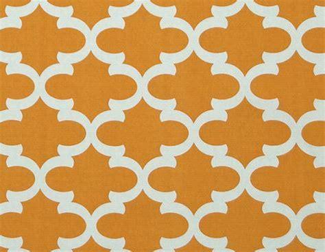 orange trellis curtains orange curtain panels quatrefoil lattice by exclusiveelements